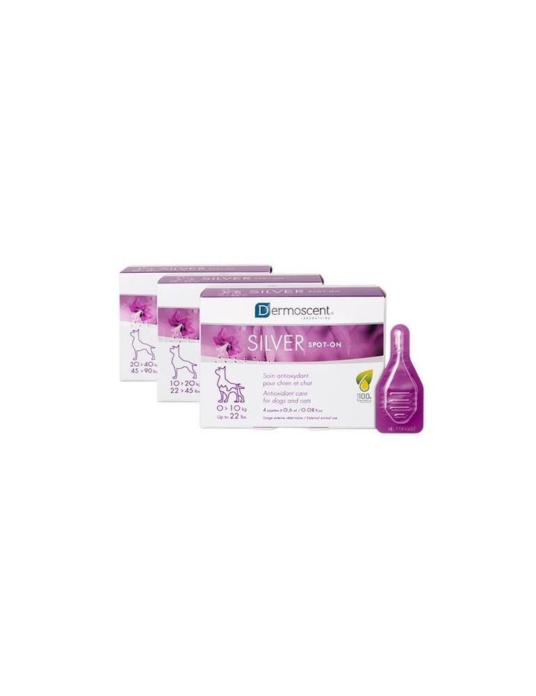 Silver Spot, Soin Protecteur et Stimulant pour Chiens Seniors entre 10 et 20kg