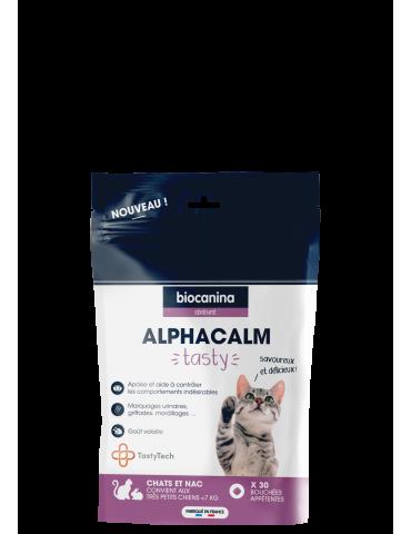 Sac de Compléments alimentaires Alphacalm Tasty pour Chats et NAC