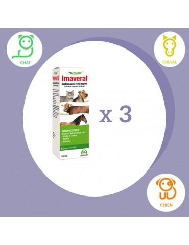 Lot de 3 solutions cutanées Imaveral