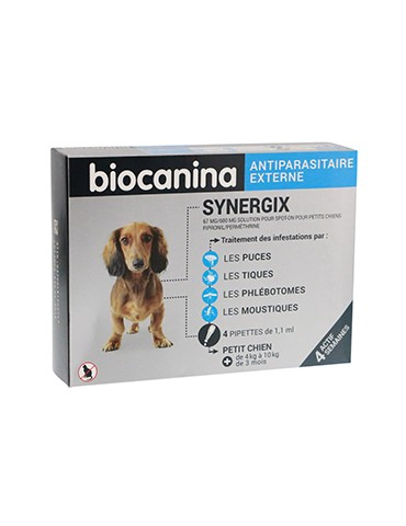 Synergix Spot-on Petits Chiens