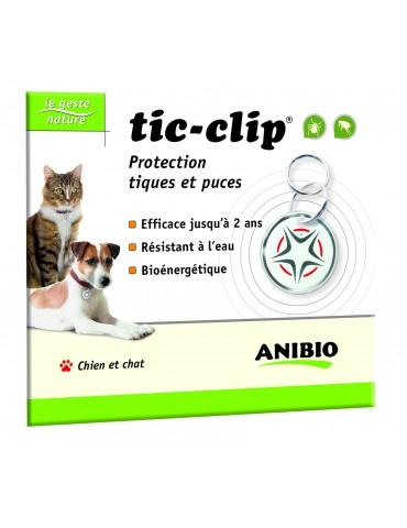Médaille Tic-clip Chien et Chat Protection des Tiques et Puces Anibio