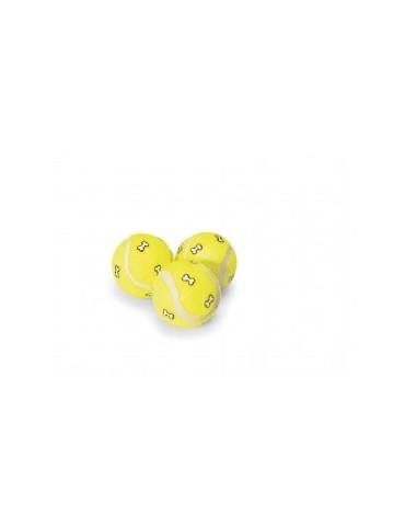Balle jaune pour chien