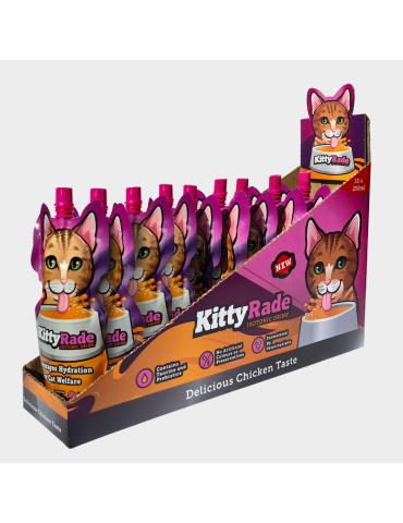 Lot de gourdes KittyRade pour chats