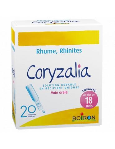 Boite de coryzalia en solution buvable
