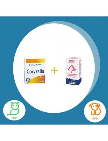 Pack Coryzalia comprimé + respyl solution buvable