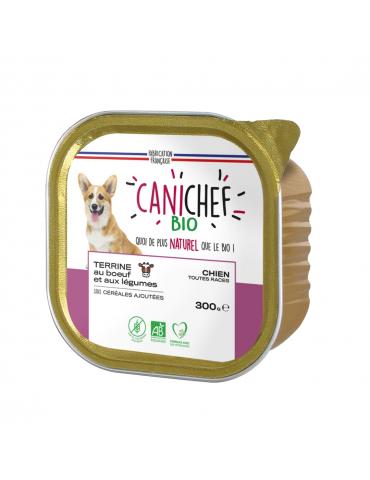 Boîte Canichef terrine bœuf