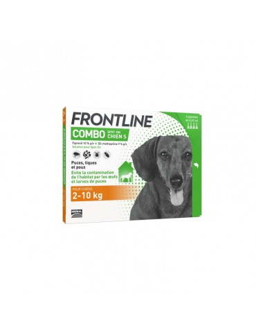 Frontline Combo Pipettes Chien S