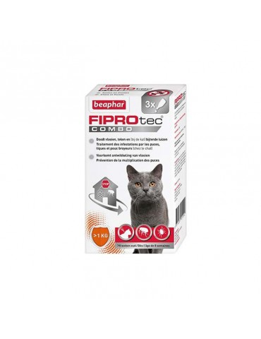 FIPROtec Combo Solution Spot-On Pour Chats et Furets