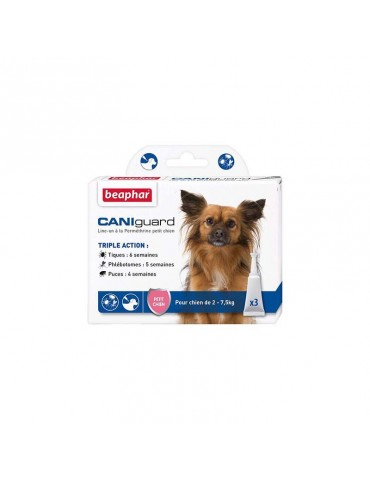CANIguard Pipettes Antiparasitaires Petits Chiens