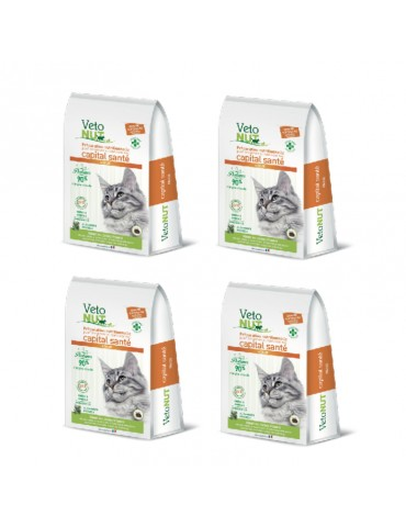 VetoNut Chat Adulte Lot de 4