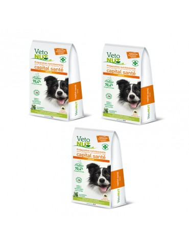 VetoNut Chien Adulte Lot de 3