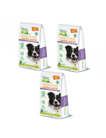 VetoNut Chien Special Digestion Hypoallergénique Lot de 3