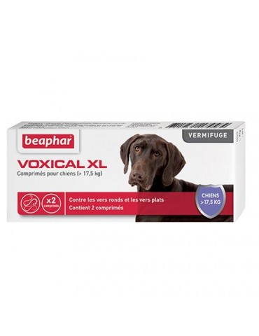 Voxical Vermifuge Chien XL...