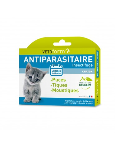 Pipettes Antiparasitaire Chatons