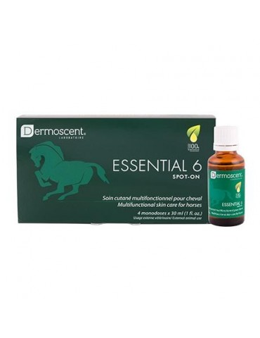 Essential 6 Spot-on Soin monodose multifonctionnel Cheval